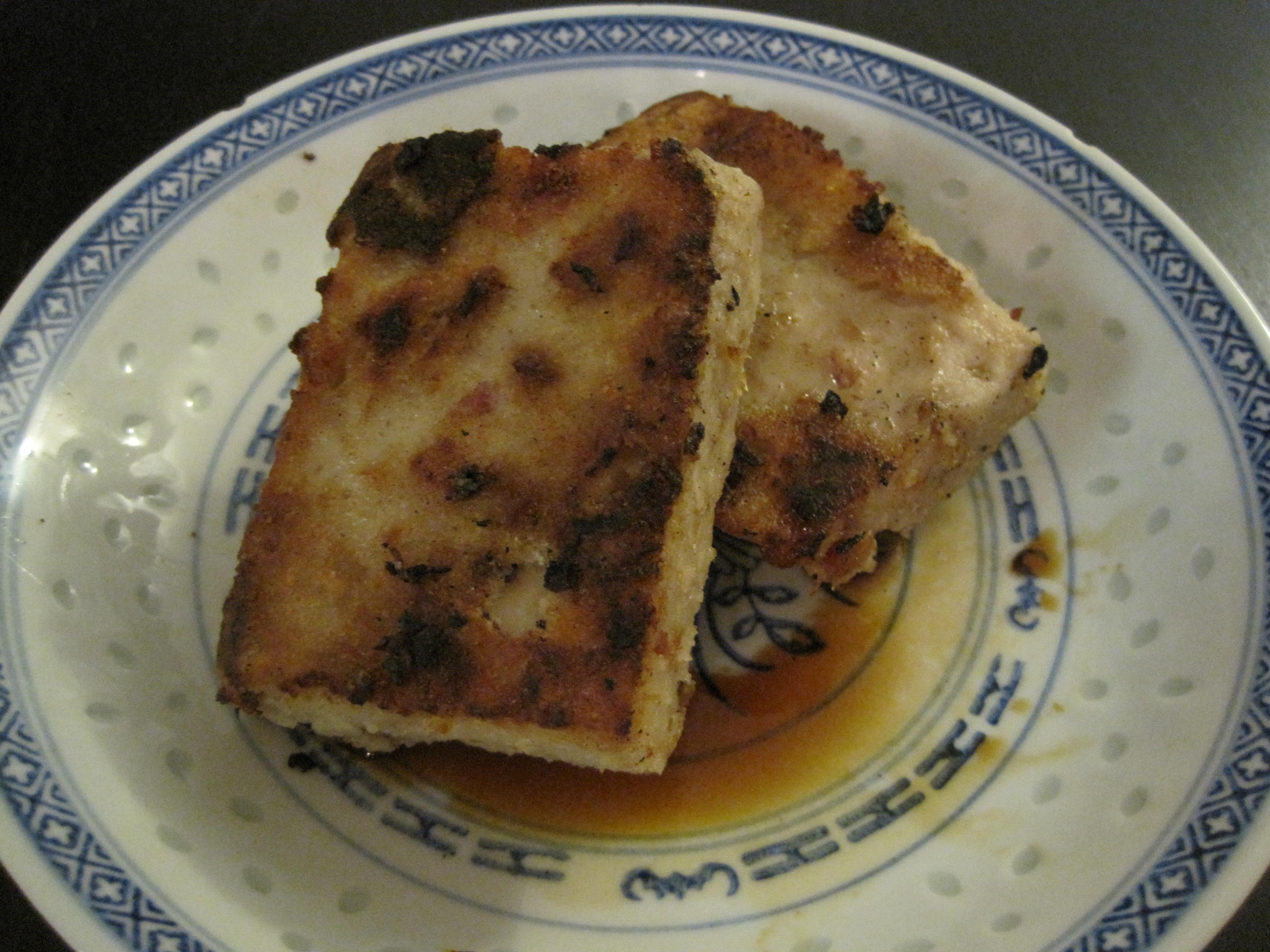 Pan Fried Taro Cake Recipe