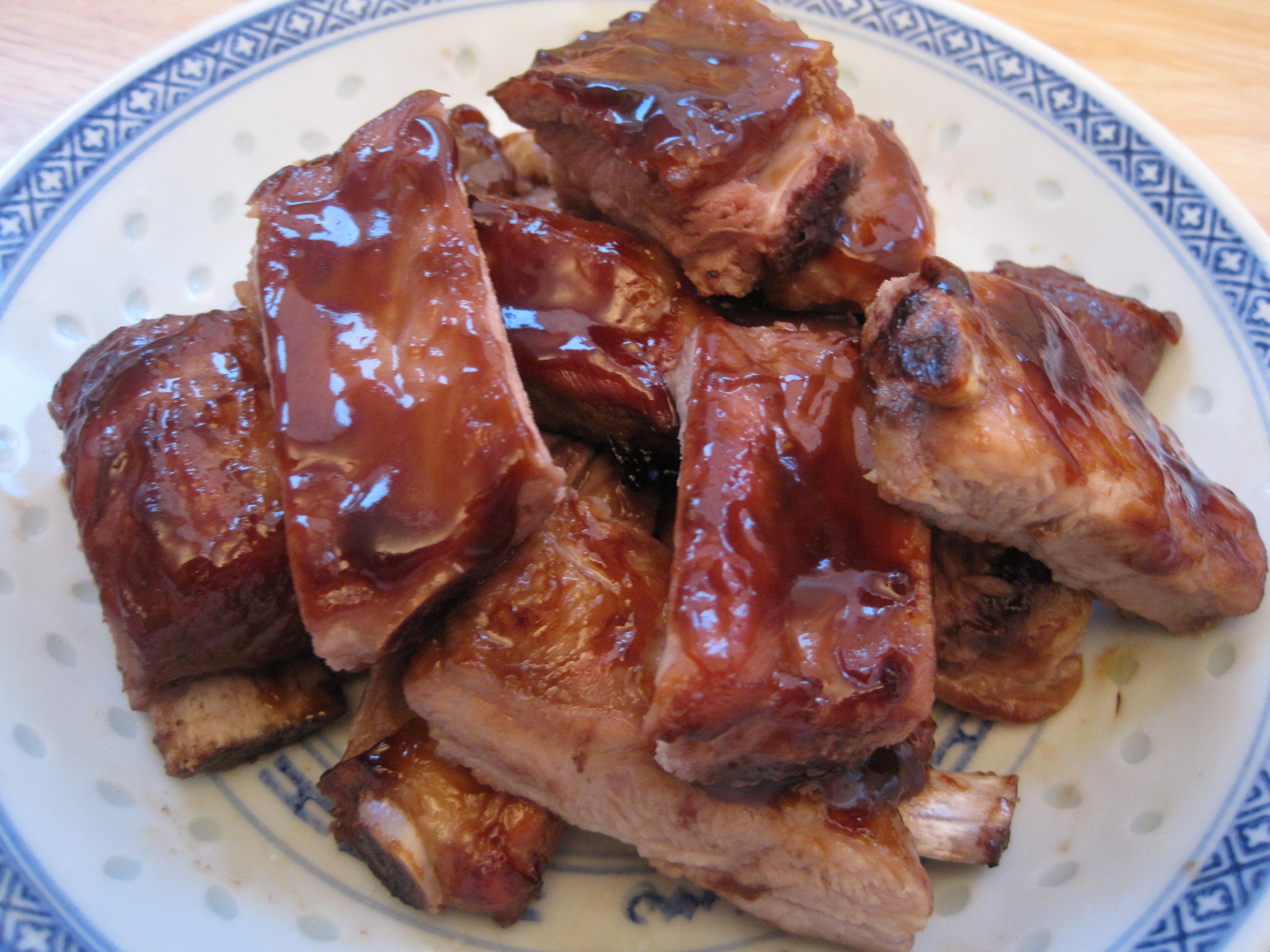 Quick pork side ribs recipe