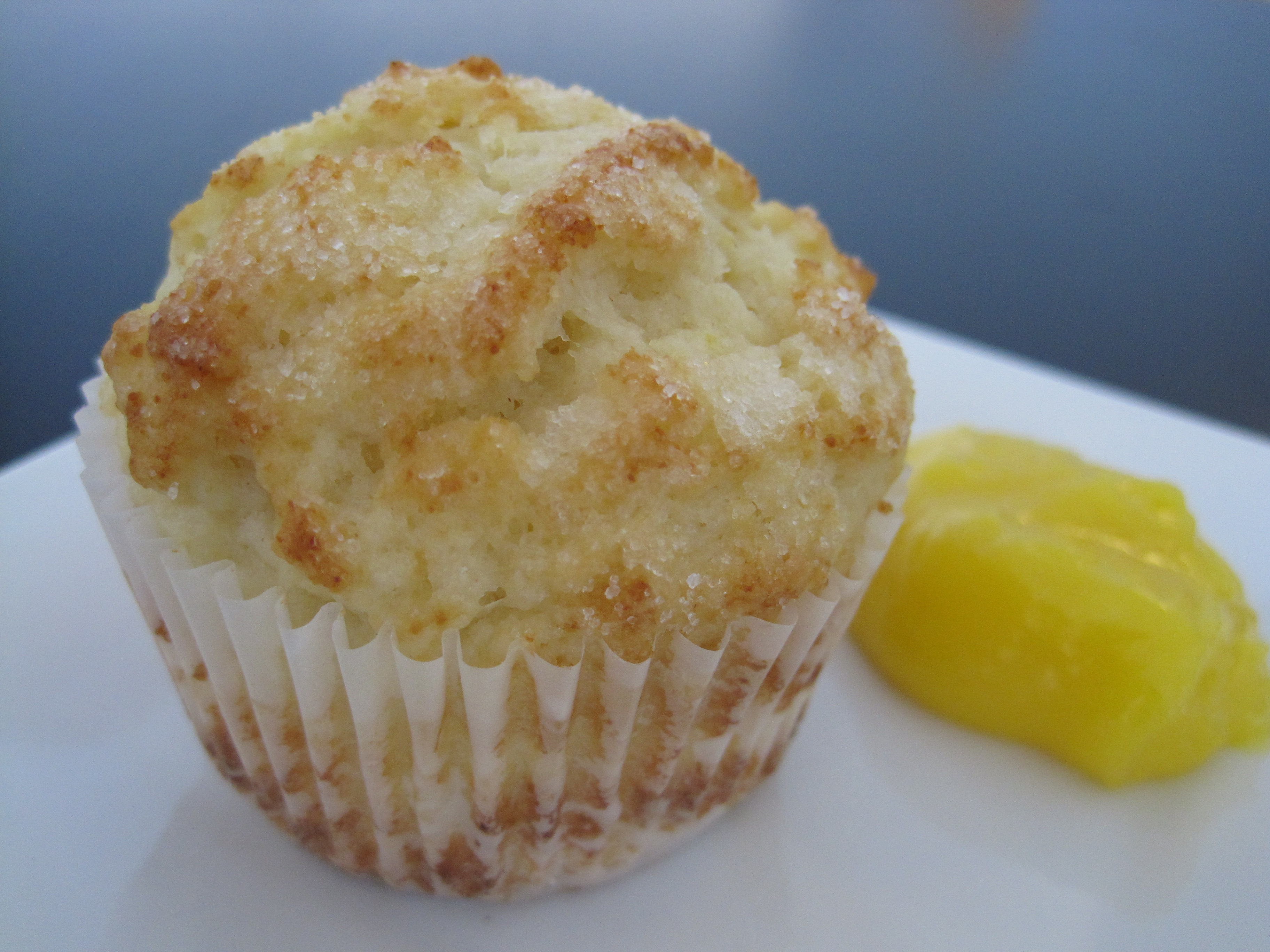 Lemon Ricotta Muffins with Lemon Curd | Cooking with Alison