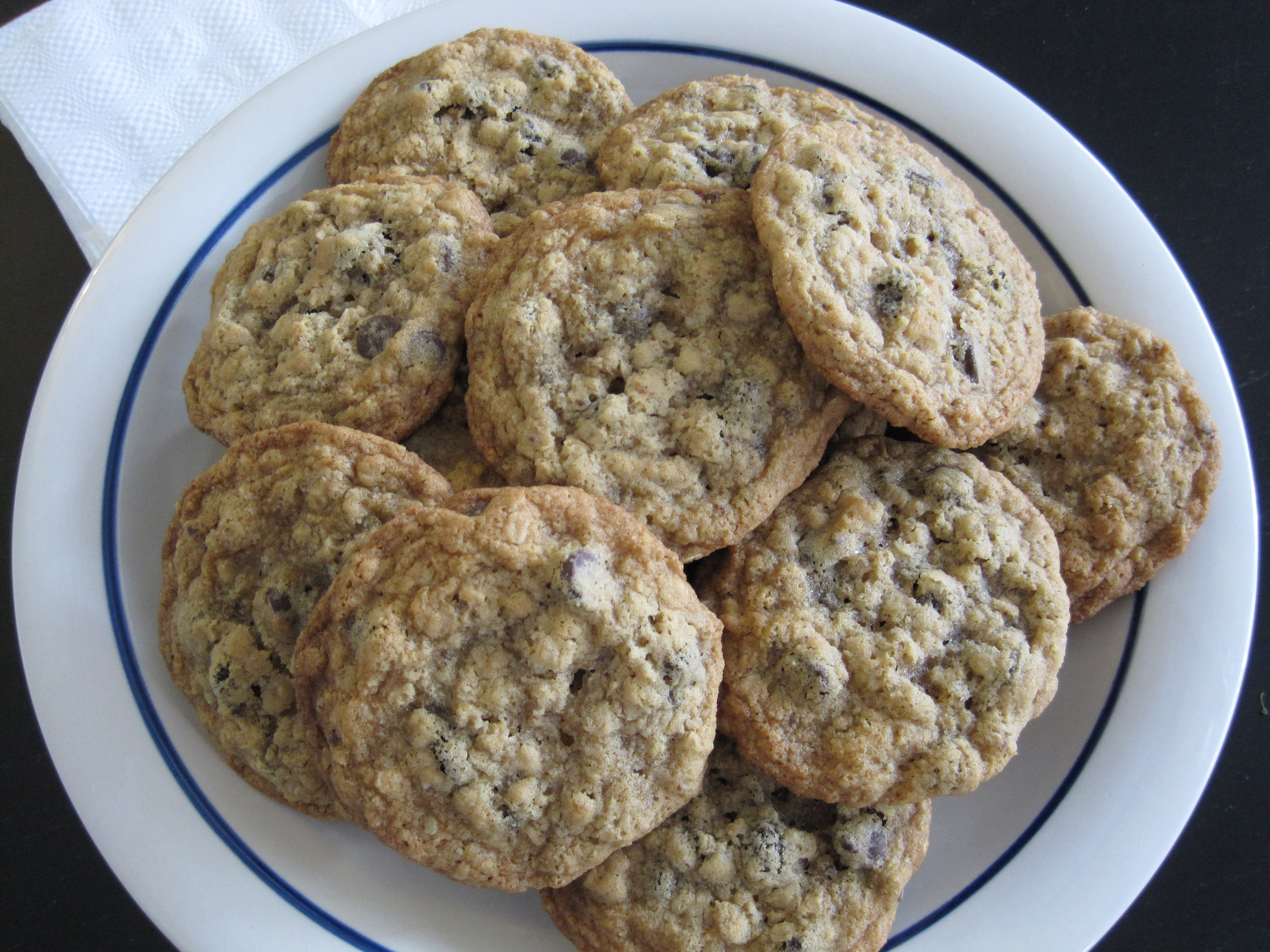 Recipes oatmeal cookies chocolate chips