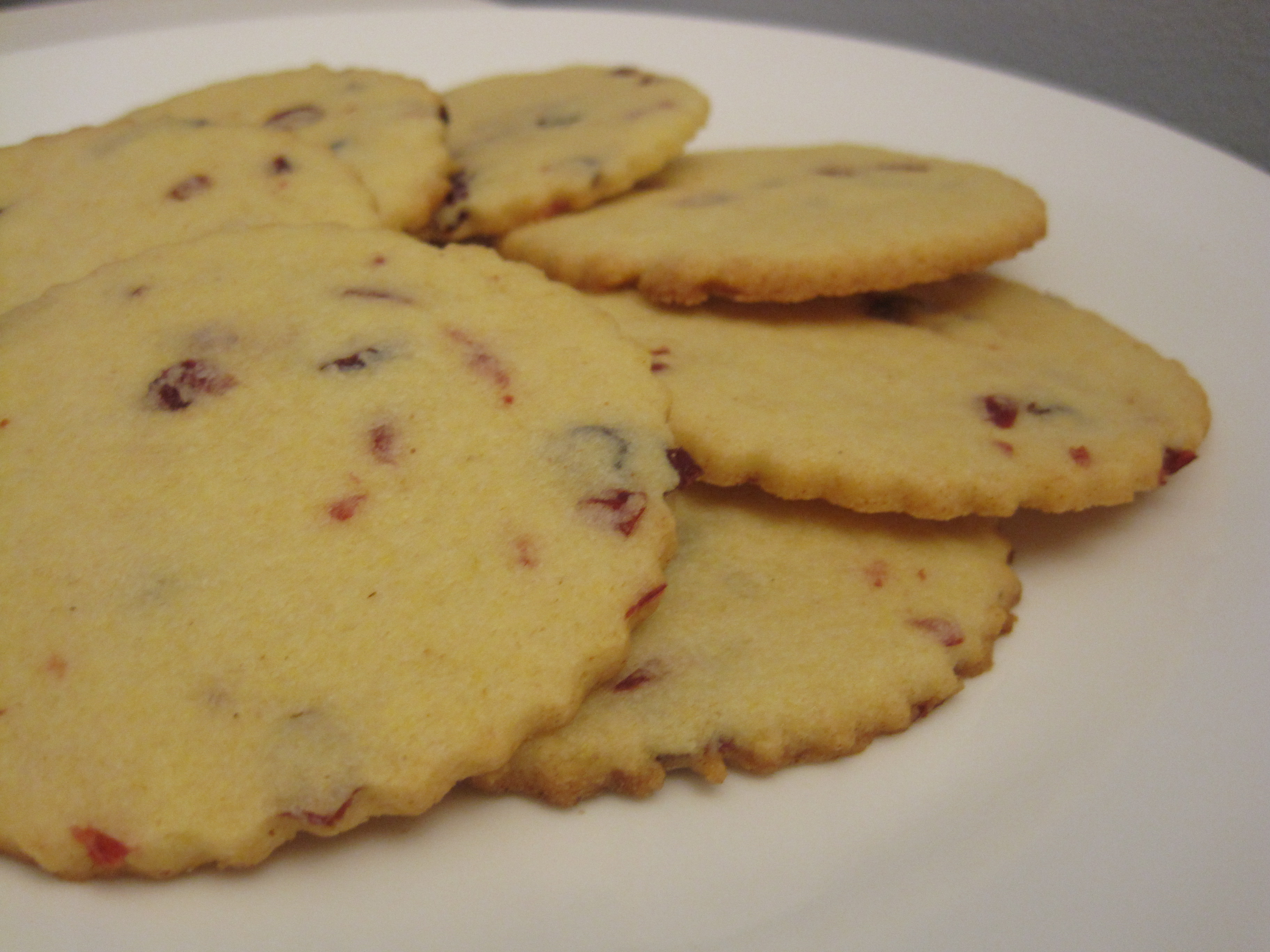 Delicate Cornmeal Cookies | Cooking with Alison