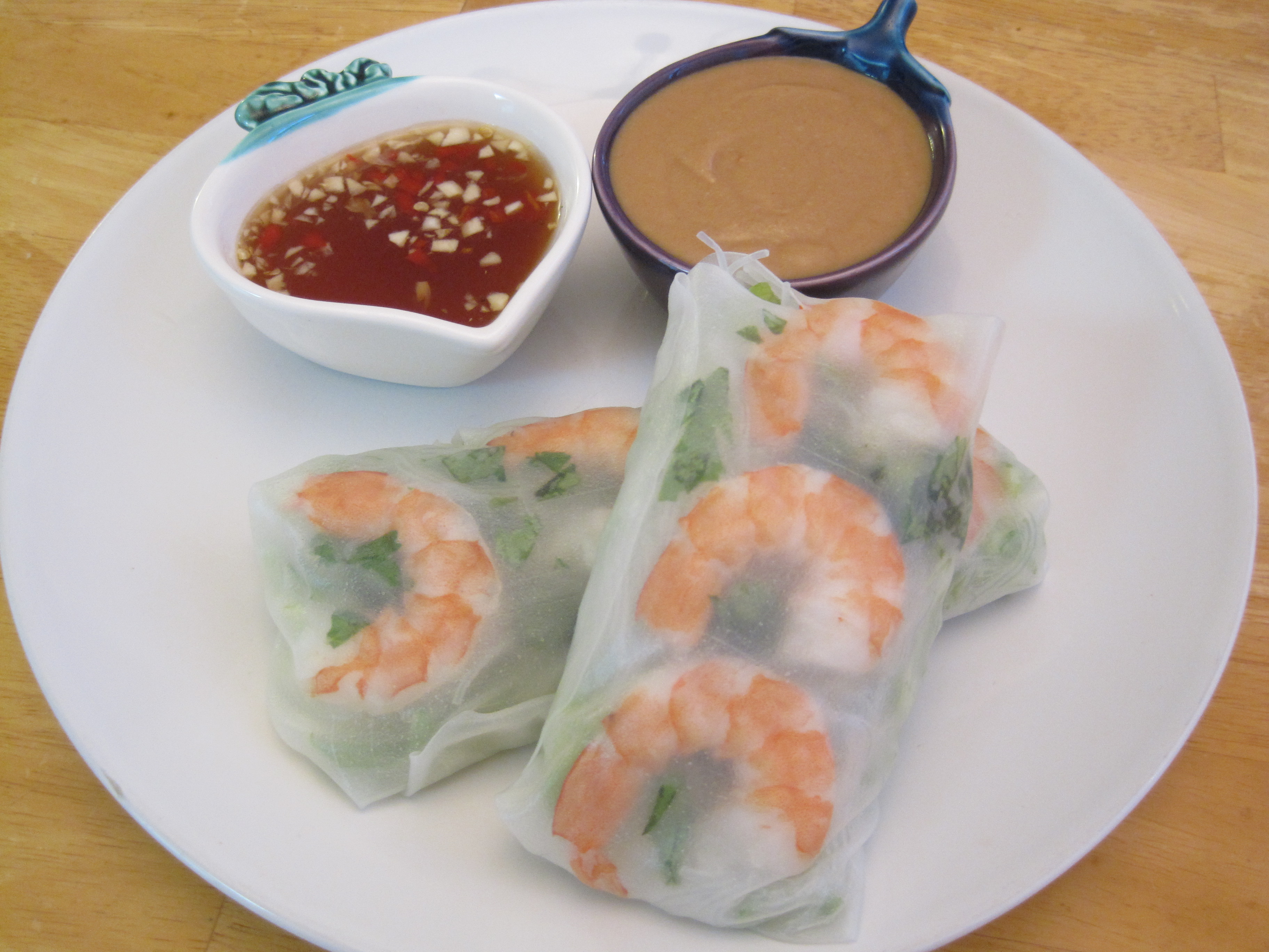 Vietnamese Rice Paper Rolls with Dipping Sauce Recipes   Cooking with ...