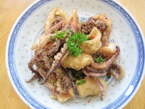 how to cook squid chinese style