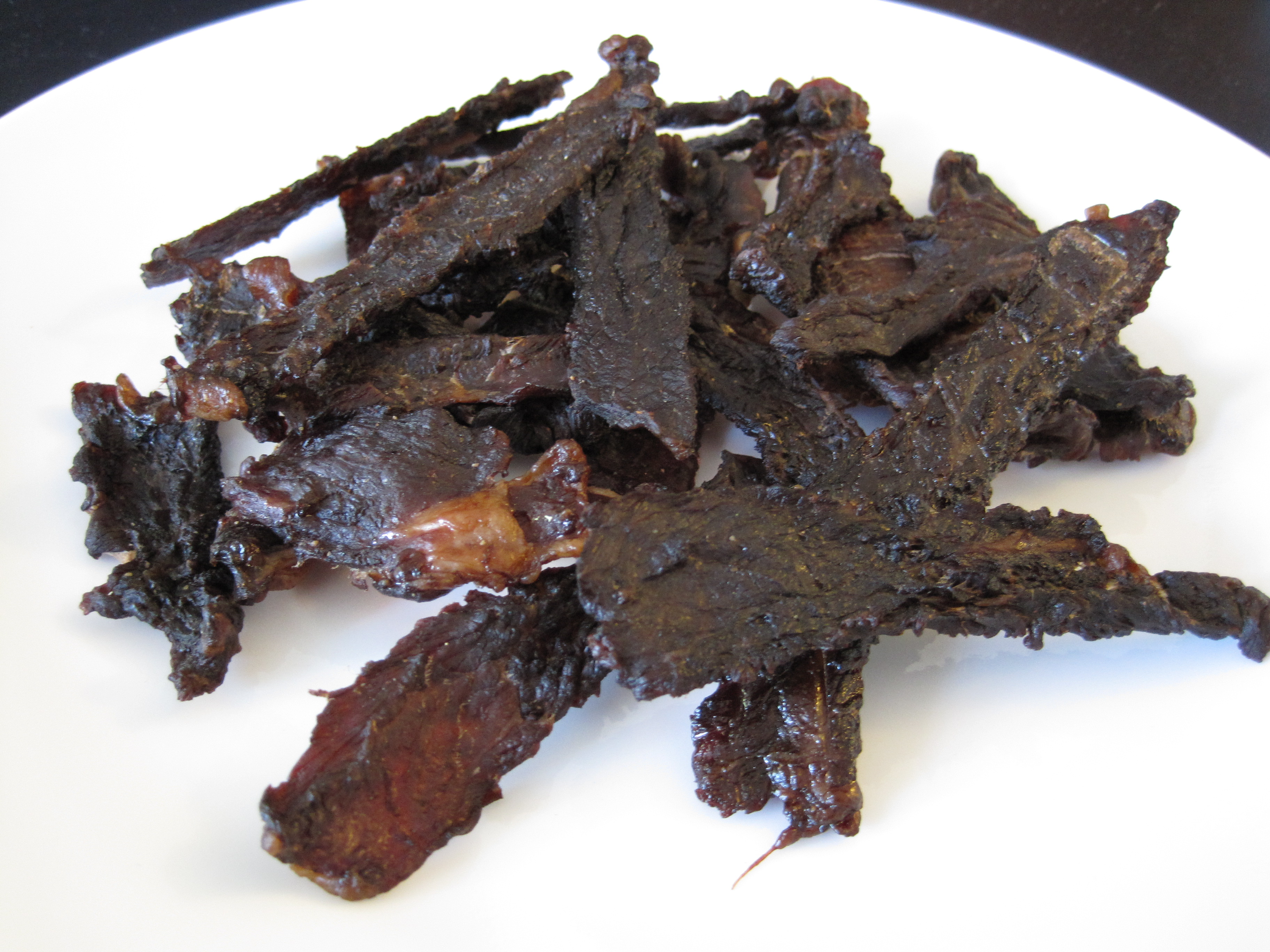 Homemade Beef Jerky (A Food Dehydrator Recipe)