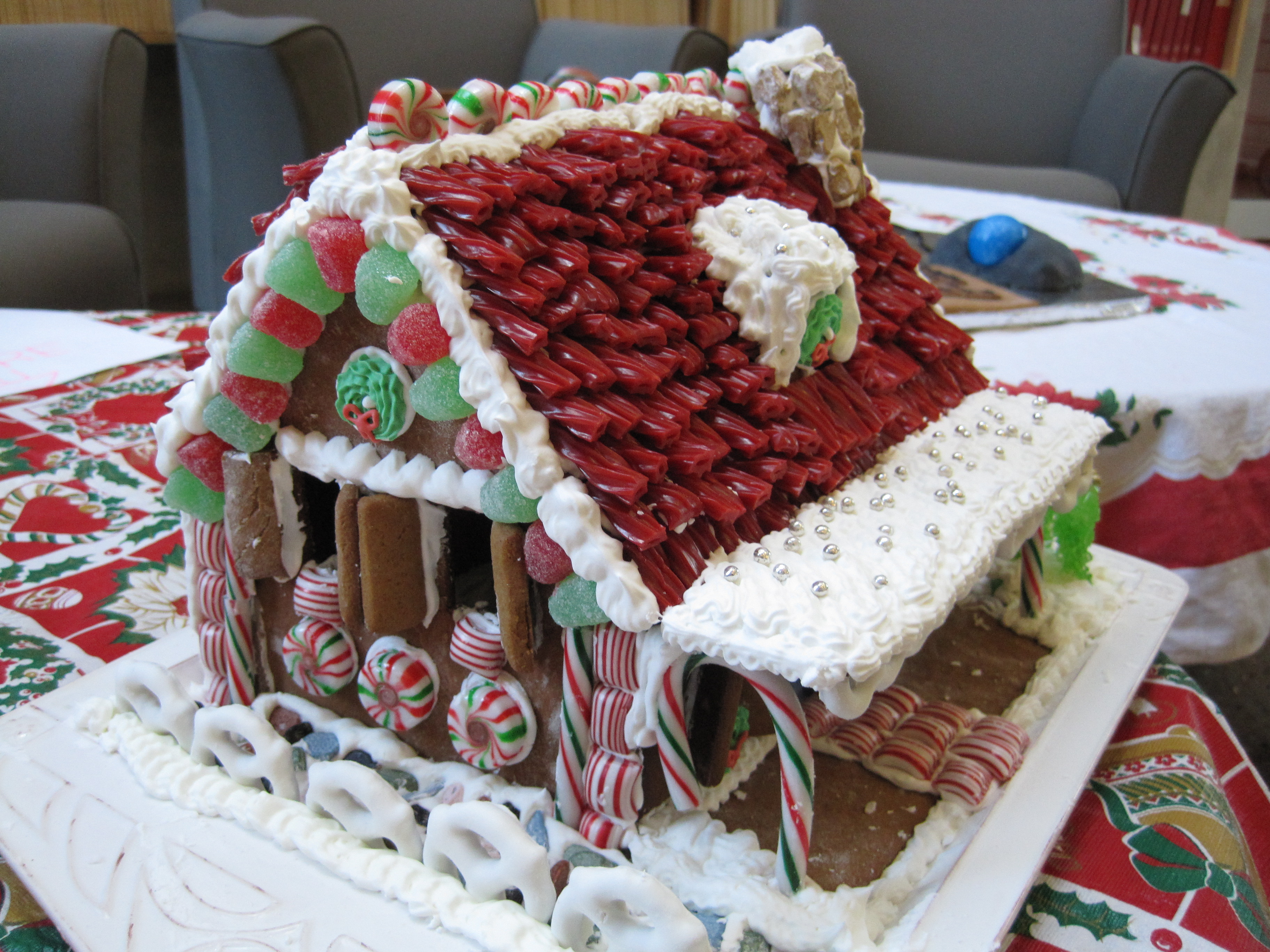 Amazing Gingerbread Houses First gingerbread house,