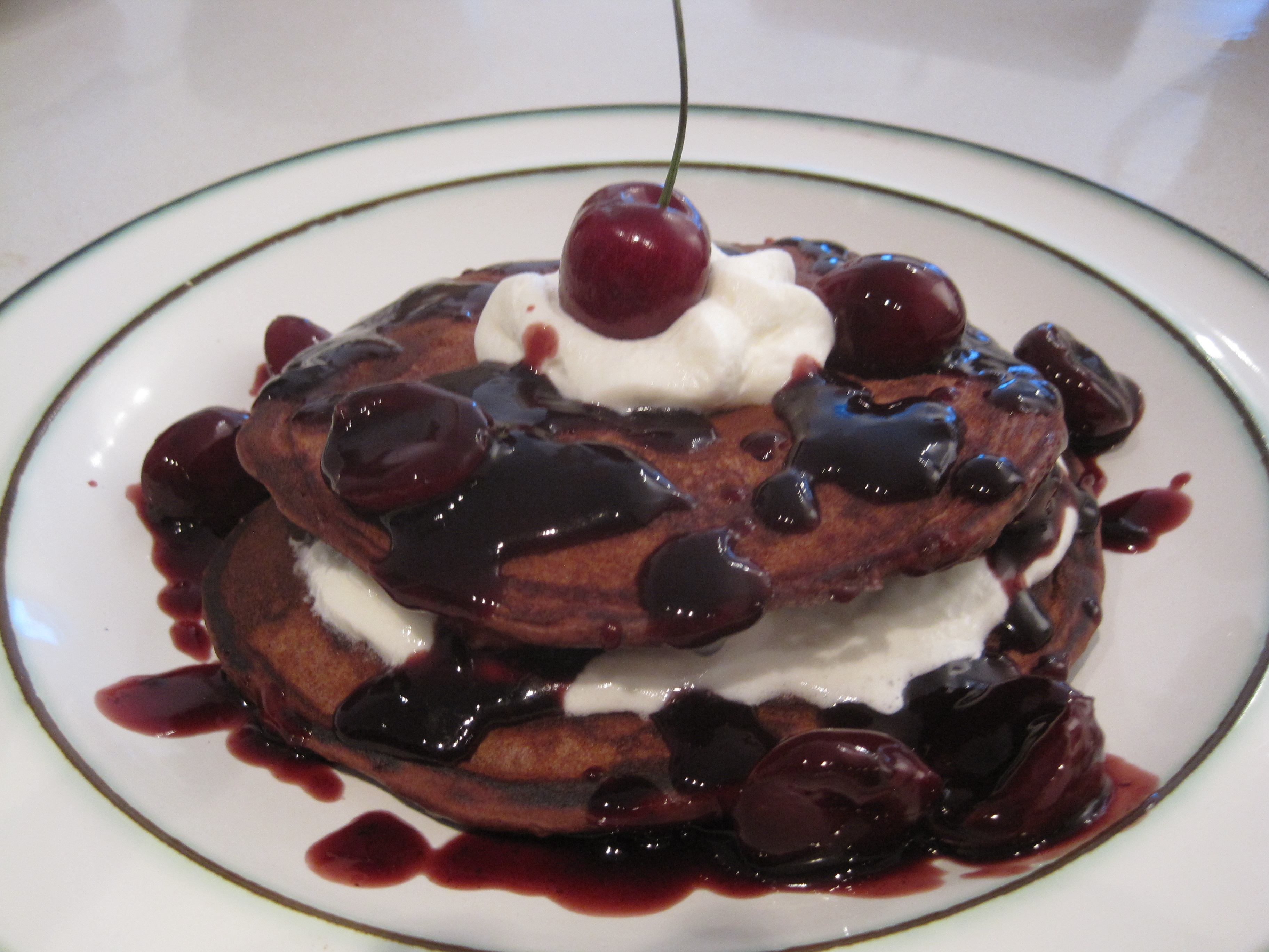 Black Forest Pancakes Recipe | Cooking with Alison