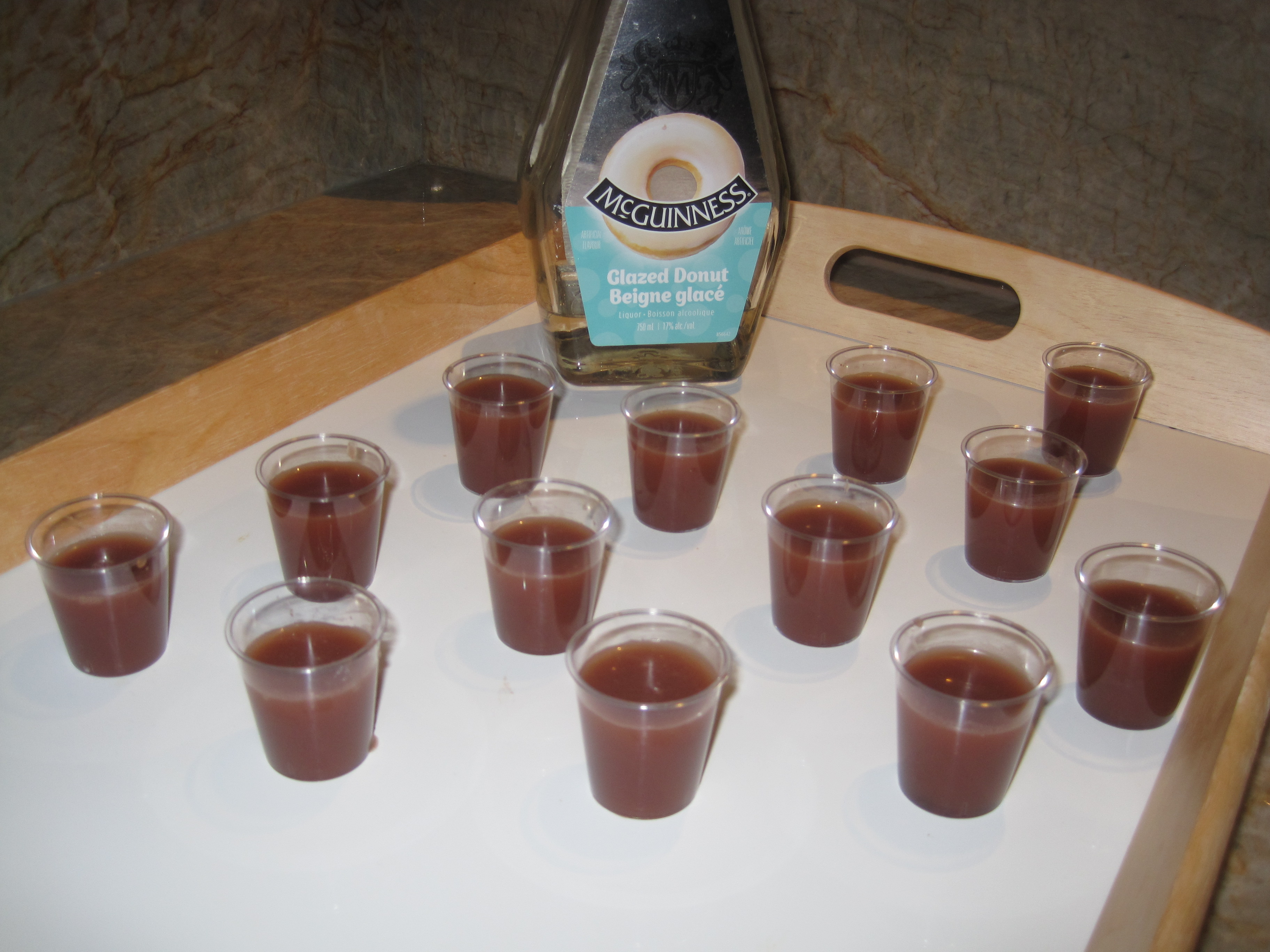Glazed donut shots alcoholic drinks recipes cooking with alison img2668 forumfinder Images