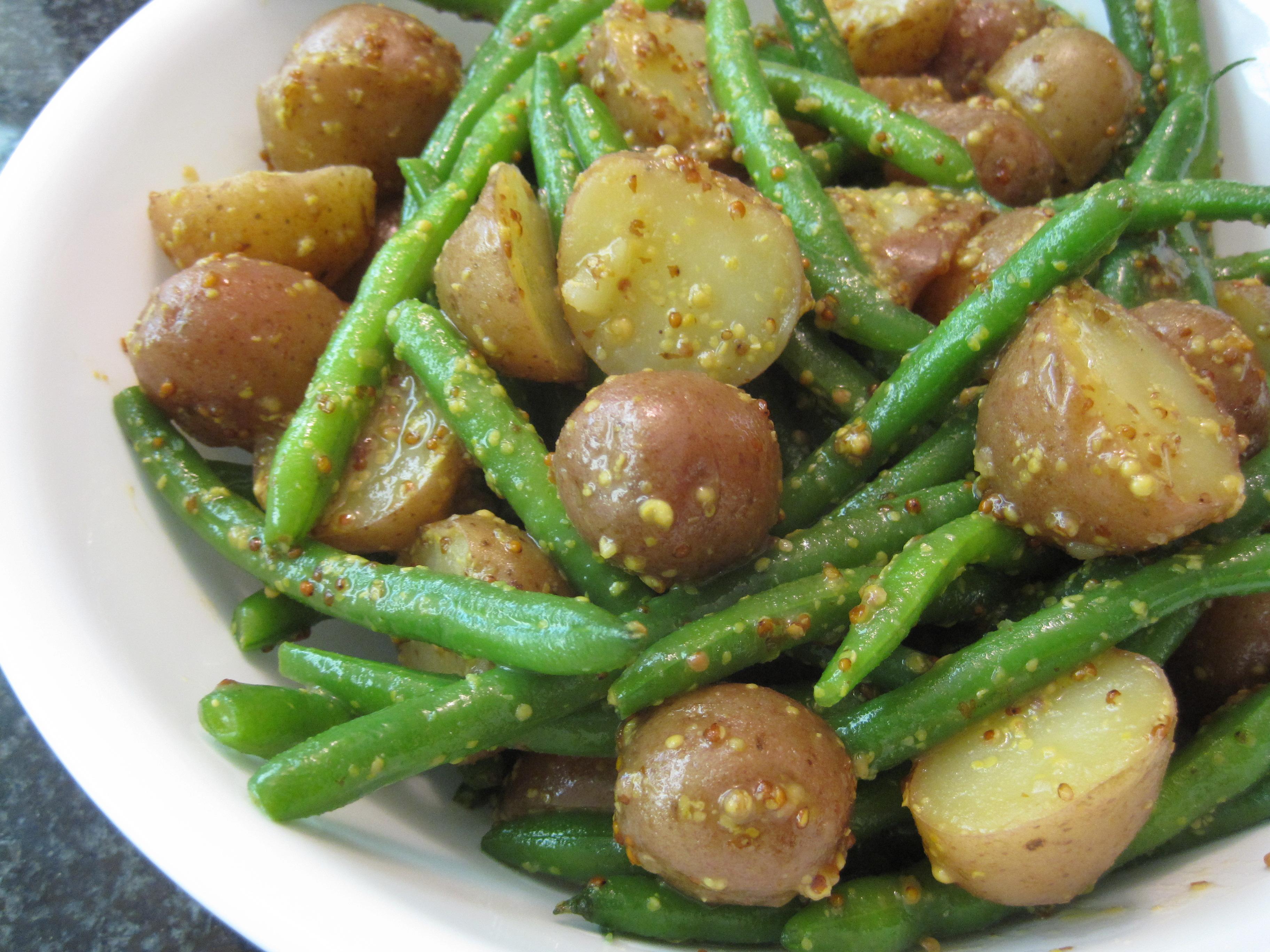 Italian Green Bean And Potato Salad Recipe