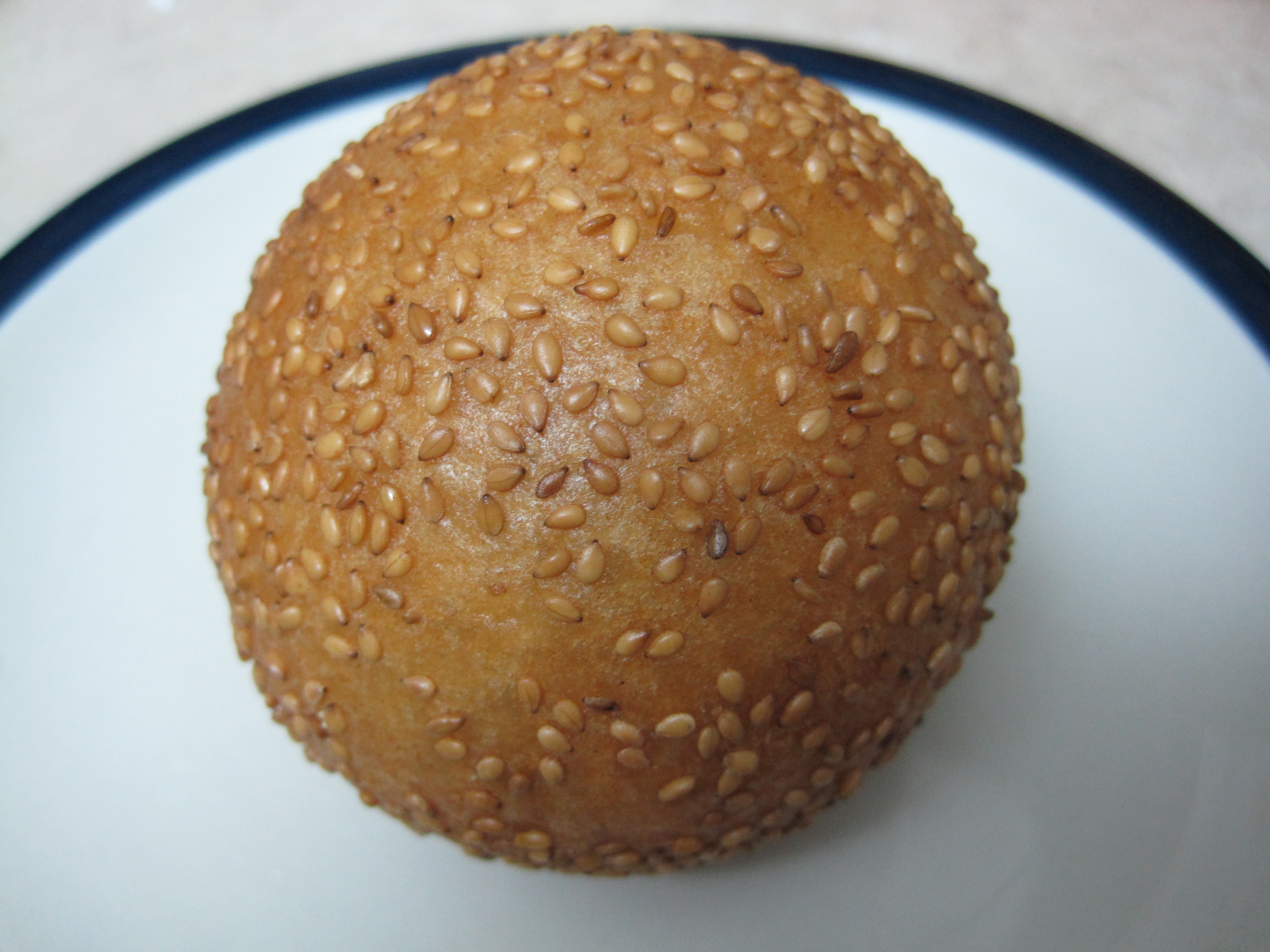 Best jien duy recipe chinese deep fried sesame balls with red bean jien forumfinder Images